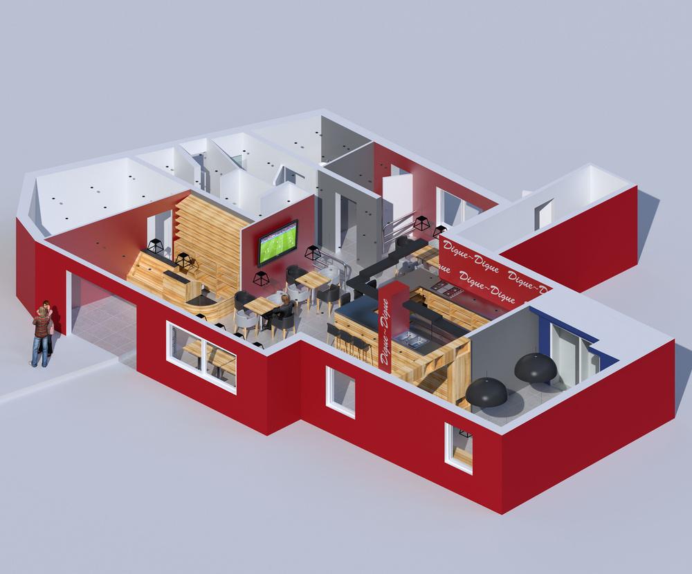 mathieu frossardarchitecture 3d mathieu frossard. Black Bedroom Furniture Sets. Home Design Ideas